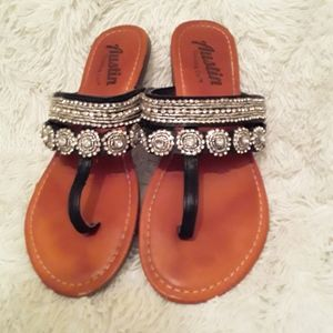 Austin Rhinestone Sandals